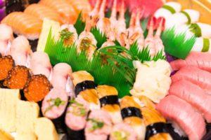 「お寿司」は糖質たっぷり!注意!