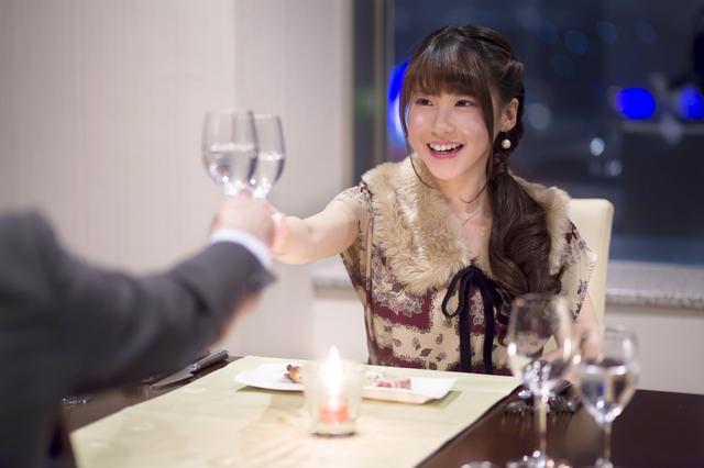 おしゃれなレストランへ!