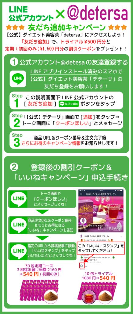 LINE公式アカウント友だち追加キャンペーン